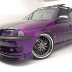 Purple Candy, recordando este impactante Volkswagen Pointer Station Wagon