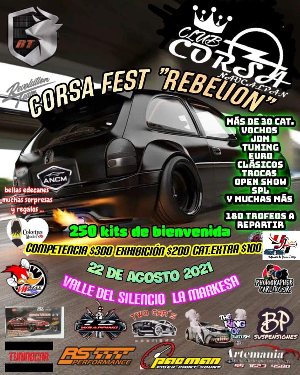 eventos tuning mexico agosto 2021