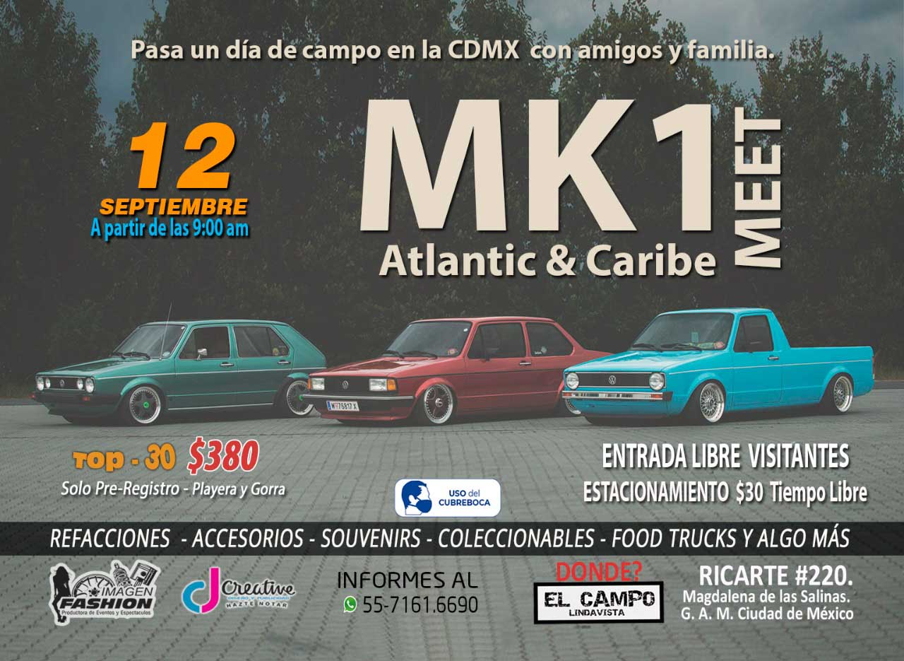 eventos autos modificados cdmx septiembre 2021